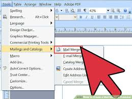 office 2013 mail merge 3 ways to create a mail merge in publisher wikihow