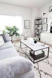 Black And White Living Room Decor Best 25 White Living Rooms Ideas On Pinterest Living Room With