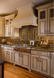 Kitchen Remodel Cabinets Best 25 White Distressed Cabinets Ideas On Pinterest Country