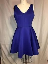 new designer dress size xl blue scuba dress 1155 ebay
