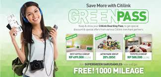 citilink live chat green pass promo