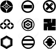 japanese family crests royalty free cliparts vectors and stock