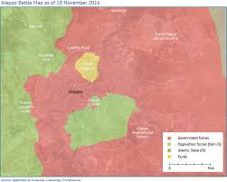 Syria Fighting Map by Aleppo The Worst Hit City In The Syrian Civil War Fanack Chronicle