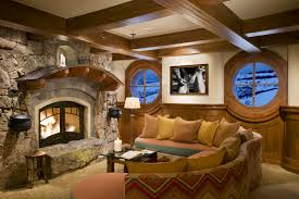 Hobbit Home Interior by Diamond Star Ranch Colorado Rmt Architects 1 800 587 7058