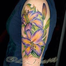 yellow flower tattoos 67 realistic lily tattoos with meaning