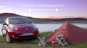 nissan leaf towing capacity nissan leaf goes the distance in a wild drive across europe youtube