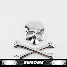 online get cheap decal sticker maker aliexpress com alibaba group 1x 3d diy car decal skull bone stickers decal emblem maker for car auto suv body