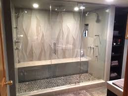 brilliant shower enclosures steam enclosure the glass must go from