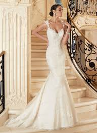 fishtail wedding dress 2015 free shipping mermaid wedding dresses lace appliques sweep