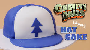 gravity falls dipper u0027s hat cake nerdy nummies youtube