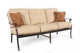 Agio Patio Dining Set - agio heritage select patio sofa mathis brothers furniture