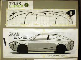 saab evs tape drawing version 2 0 i now have a plan view a u2026 flickr