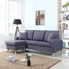 Compact Sectional Sofa Small Sectional Sofa With Chaise Amazon Com