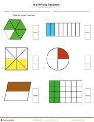 fractions worksheets understanding fractions adding fractions