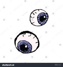 childs drawing halloween eyeballs stock vector 47322694 shutterstock