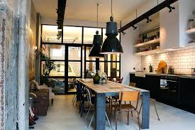 Kitchen Industrial Lighting Industrial Style Lighting For A Kitchen Industrial Design Dining