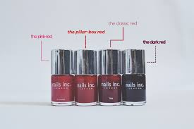 painting the town red a guide to the numerous shades of red nail