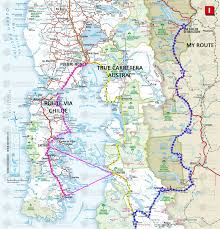 Bariloche Argentina Map The Route And Maps A Guide To Cycling The Carretera Austral