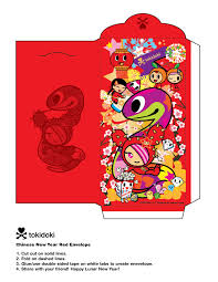 new years envelopes new year envelope tokidoki