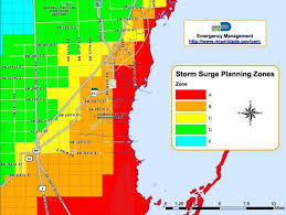 Miami Neighborhood Map by Evacuations Expected In Miami Dade County Due To Threat Of