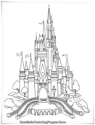 elsa ice castle coloring pages cartoon lovely elsa coloring