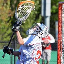 lacrosse halloween costume goalie brody carter helps albany academy boys u0027 lacrosse repeat