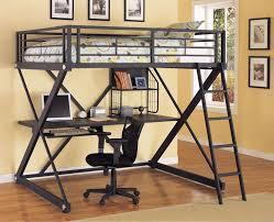 Walmart Bunk Beds With Desk Bunk Beds Metal Loft Bed With Desk Walmart Bunk Beds With Desk