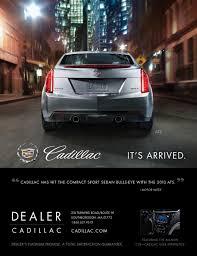 car ads 2016 sabre digital creative cadillac magazine advertising