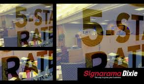 See Through Window Graphics Signarama Window Graphics For Your Business