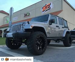 jeep jku lifted repost miamibestwheels jeep jk with 20x12 fuel cleaver d239 and