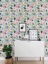 seamless flower self adhesive wallpaper vintage floral