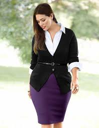 5 stylish plus size for a job interview page 2 of 5