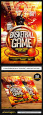 basketball playoffs flyer psd flyer design templates pinterest