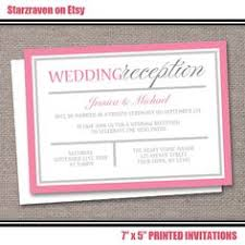 Post Wedding Reception Invitation Wording After The Wedding Party Invitations Or Elopement Party Invitations