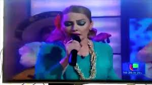 famous mexican singers mexican singer drops menstrual pad on live tv youtube