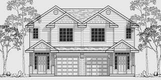 duplex floor plans for narrow lots narrow lot duplex house plans two duplex house plans