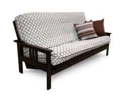 queen size java futon set by prestige