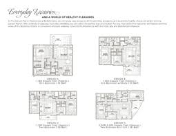 floor plans and features the canyon ranch residences at floor plans