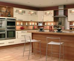photo of calm modern natural cream premier kitchens kitchen
