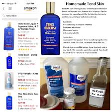 witch hazel for ingrown hair tend diy for razor bump and ingrown hairs the upcycle and my