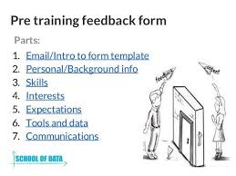 training feedback template training evaluation form 15 download