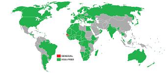 Dakar Senegal Map Emerge Film Solutions