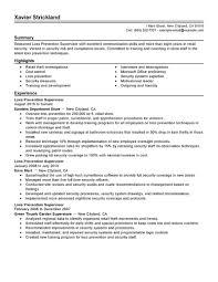 Best Resume Builder Reviews by Loss Prevention Resume Haadyaooverbayresort Com