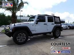 white jeep sahara 2015 2015 jeep wrangler unlimited rubicon in louisiana for sale used