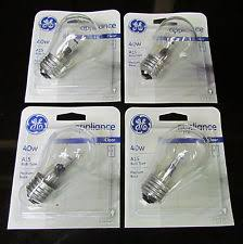 ge refrigerator light bulb replacement refrigerator light bulb ebay