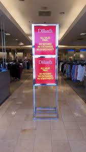 dillard u0027s at fashion square mall becoming a clearance center
