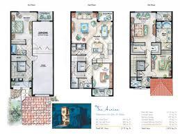 floor three story floor plans