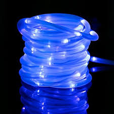 Christmas Rope Lights Solar by Amazon Com Le 33ft 100 Led Solar Power Rope Lights Waterproof