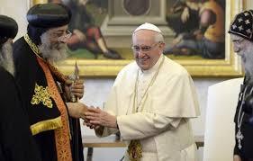 هل بدأت الكنيسة القبطية  بالفعل خطوات التنازل عن عقائدها الإيمانية من أجل التقارب مع الفاتيكان ؟ images?q=tbn:ANd9GcS