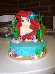 ariel birthday cake decorations u2014 marifarthing blog ariel